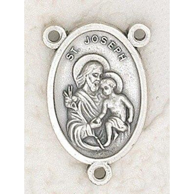 Saint Joseph Rosary Center - Pack of 25