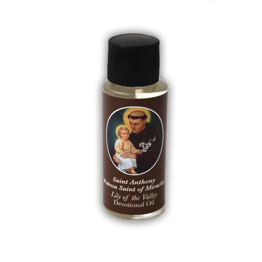 Saint Anthony Devotional Oil, Lily of the Valley Scent