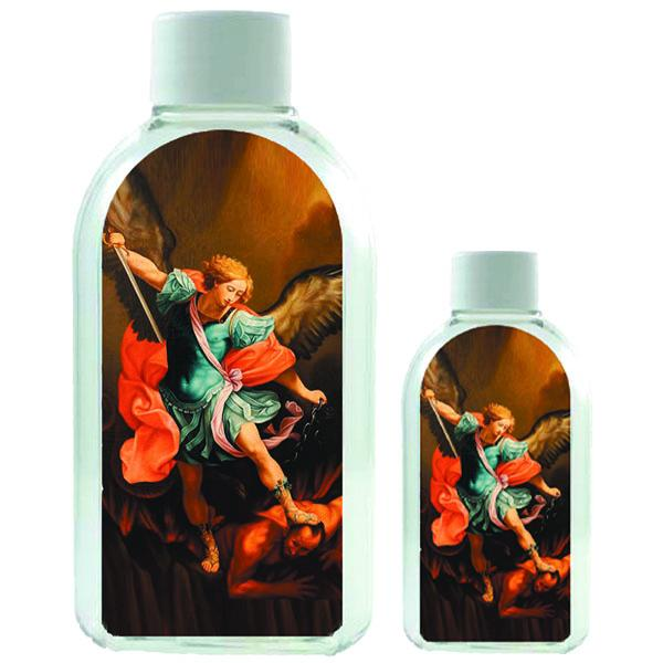Large Plastic Holy Water Bottle - Saint Michael