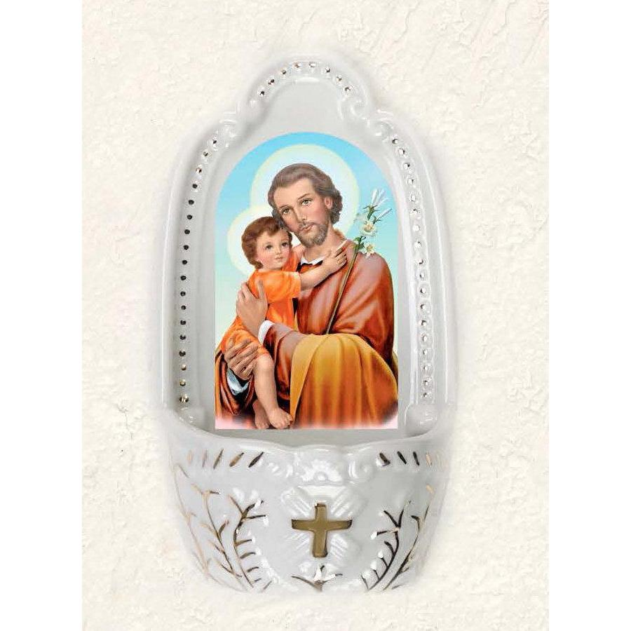 Saint Joseph Holy Water Font
