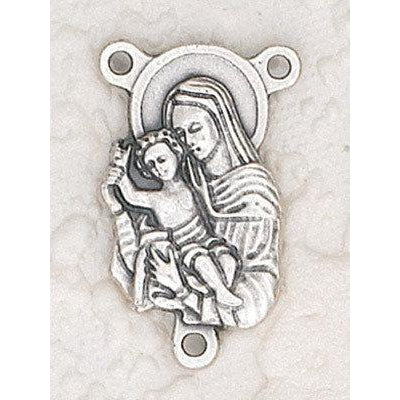 Mother and Child Rosary Center - Pack of 25