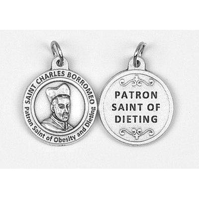 Healing Saint - St Charles Borromeo Medal - 4 Options