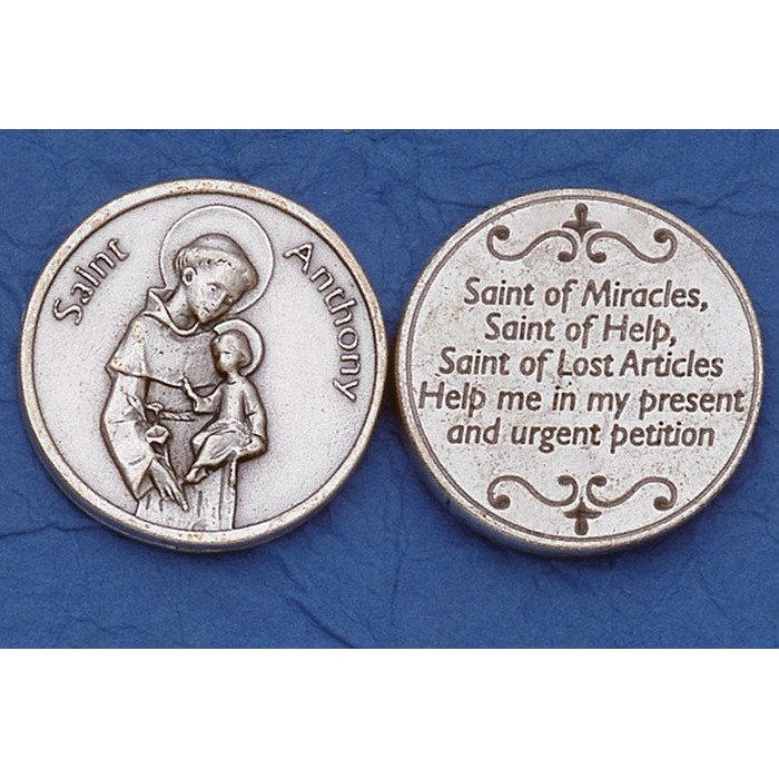 Italian Tokens - St Anthony