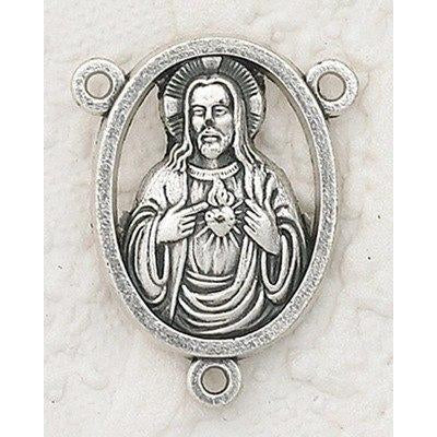 Sacred Heart Rosary Center - Pack of 25