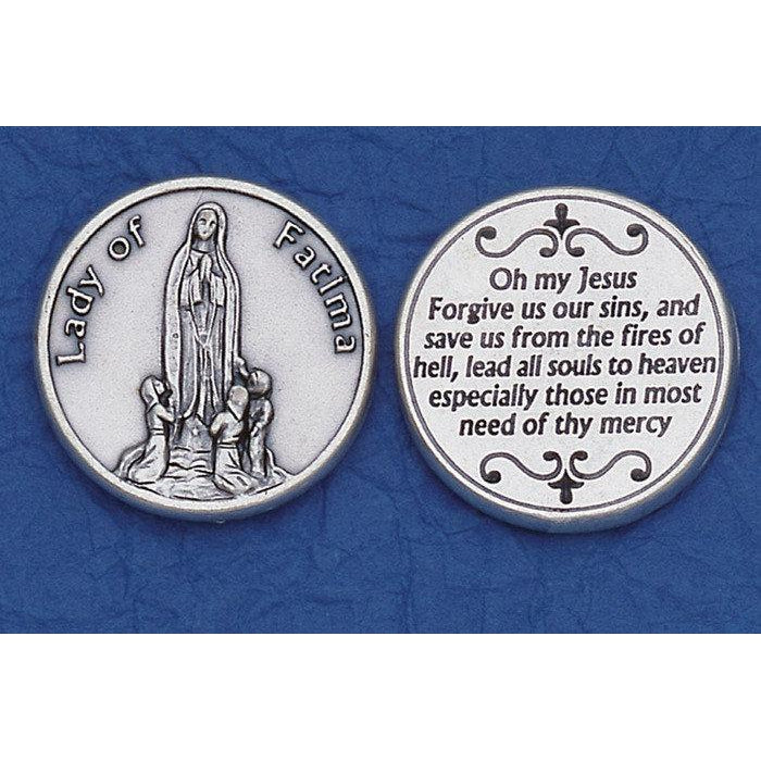 Italian Token - Lady of Fatima