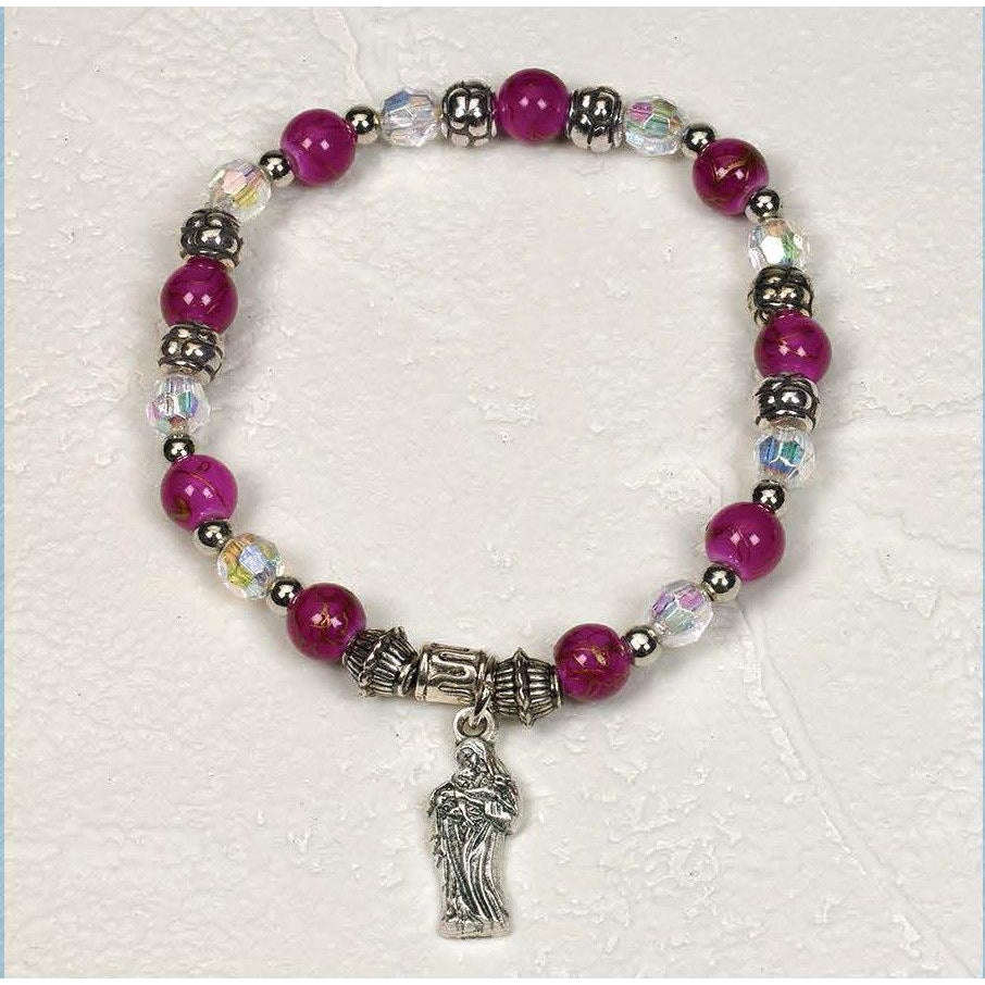Mother and Child the Innocence - Italian Charm Bracelet - Pack of 4