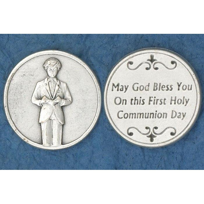 Sacrament Token - Communion Boy - Pack of 25