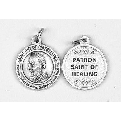 Healing Saint - St Pio Medal - 4 Options