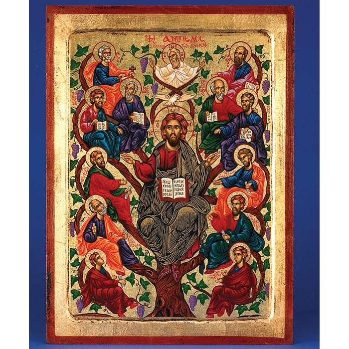 Jesus Tree of Life (Apostles)- Gold Leaf