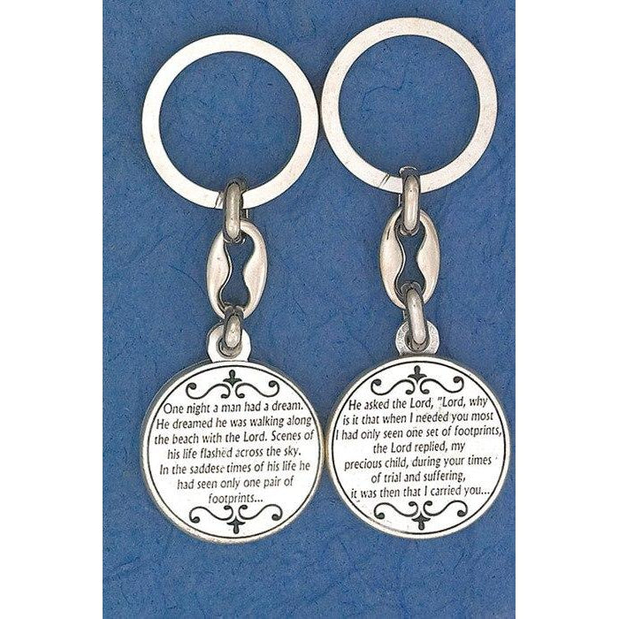 Footprints Token Keyring - Pack of 6