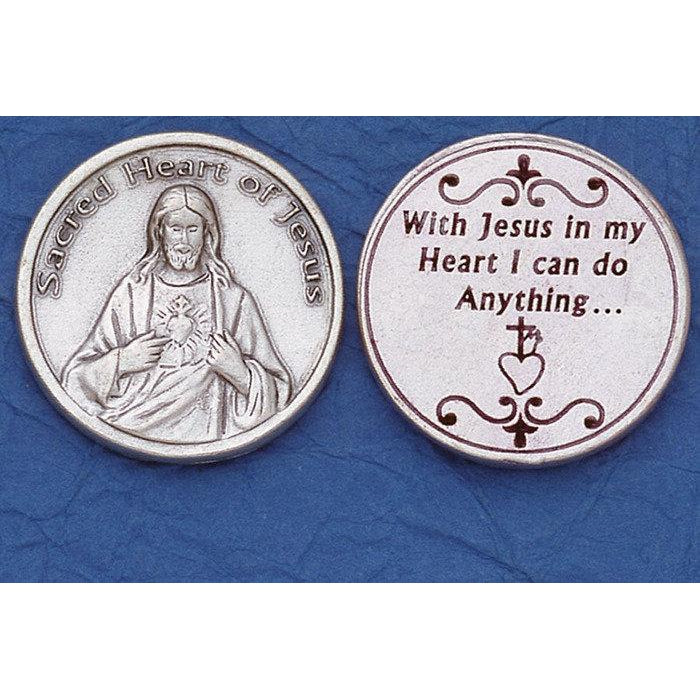 Italian Tokens- Sacred Heart of Jesus