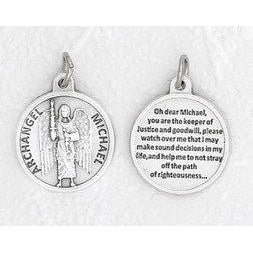 "3/4"" Medal- Archangel Michael- PACK OF 25"