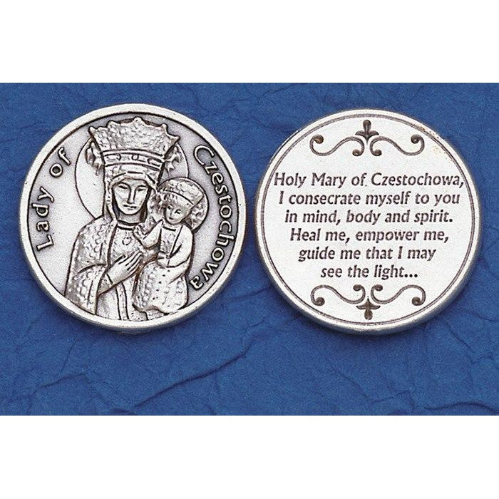 Italian Tokens - Lady of Czestochowa