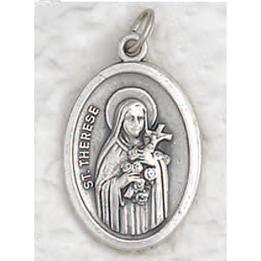 St Therese of Lisieux - Pray for Us Medal - 4 Options