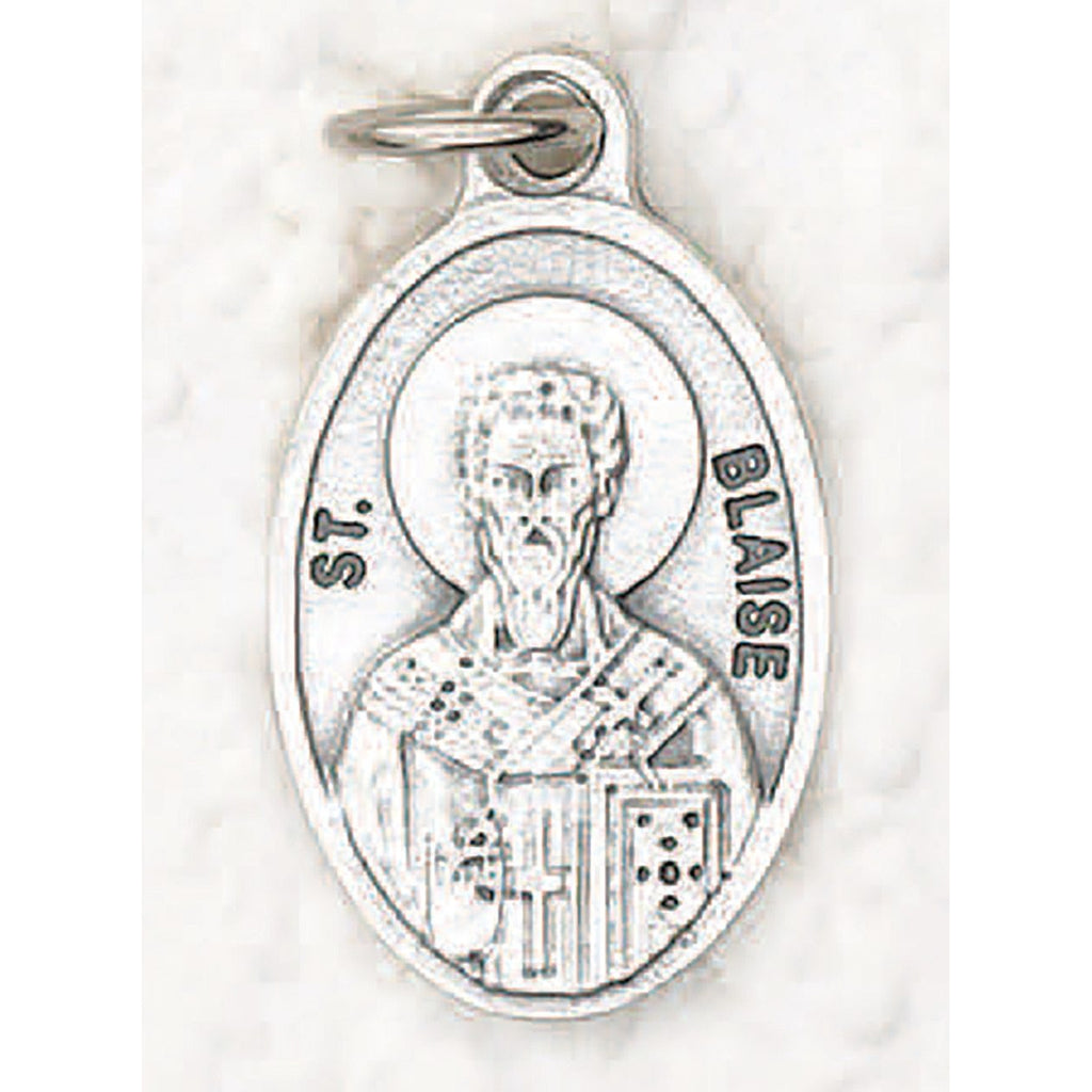 Saint Blaise Pray for Us Medal - 4 Options