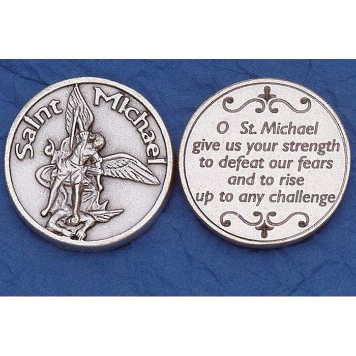 Italian token - St. Michael the Archangel