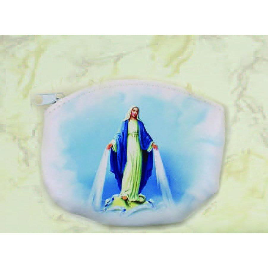 Mary Rosary Pouch - Pack of 12