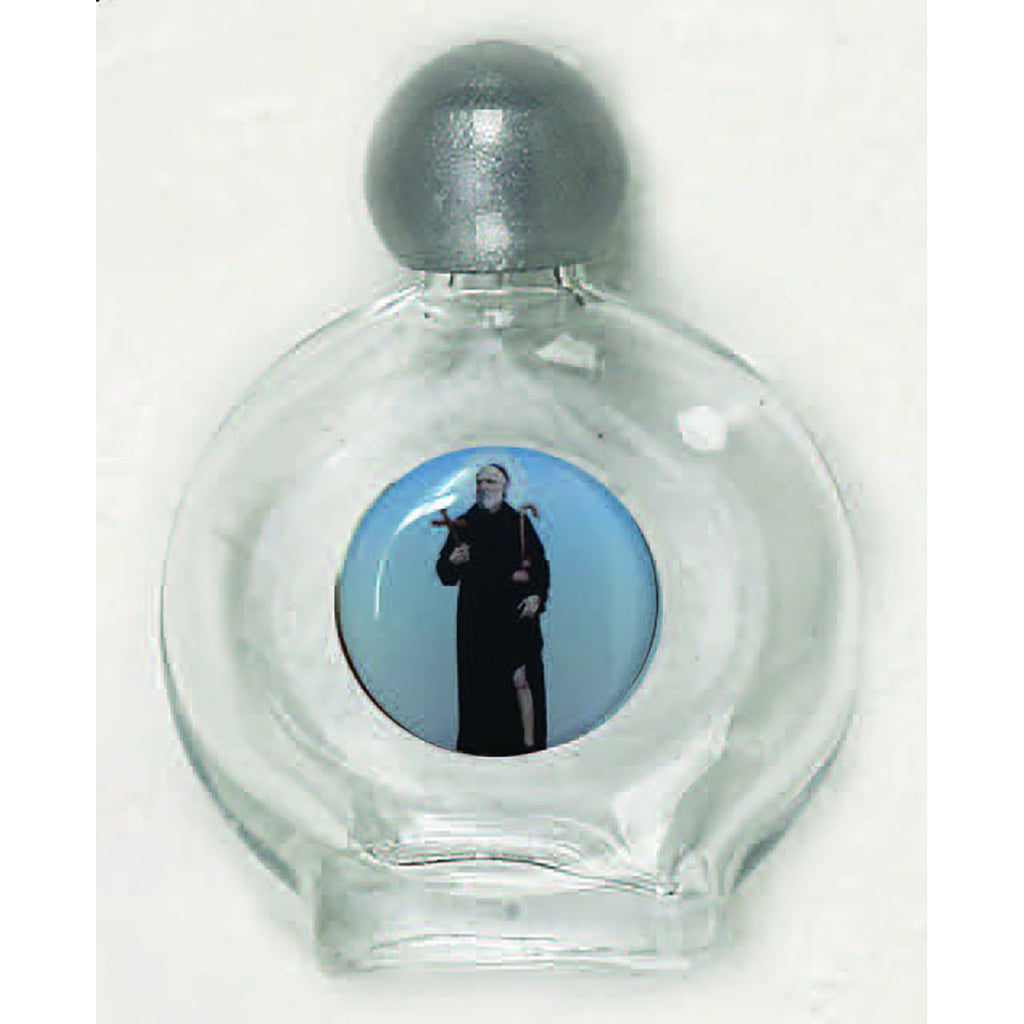 Saint Peregrine Holy Water Bottle - Pack of 12