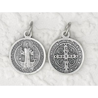 Saint Benedict Double Sided Round Medal - 12 Options