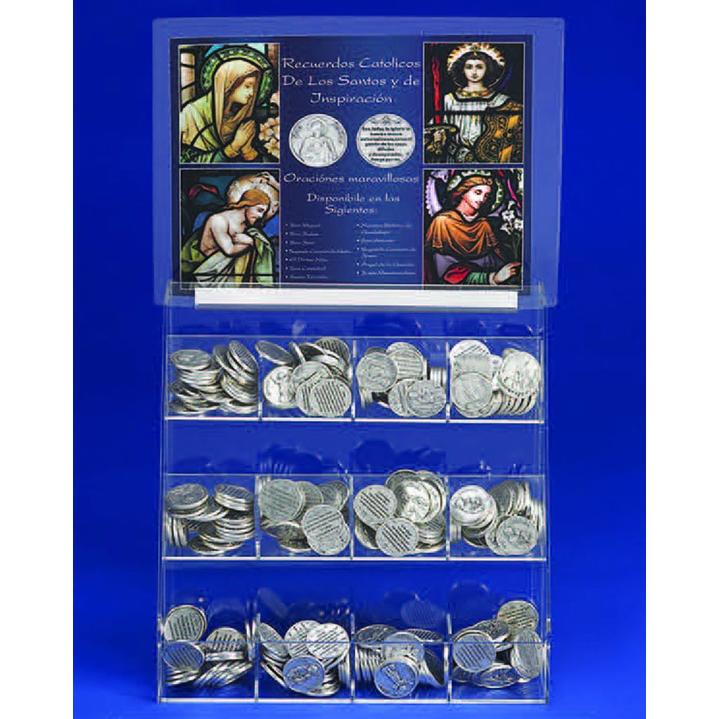 Free Spanish Token Display With the Purchase of Tokens