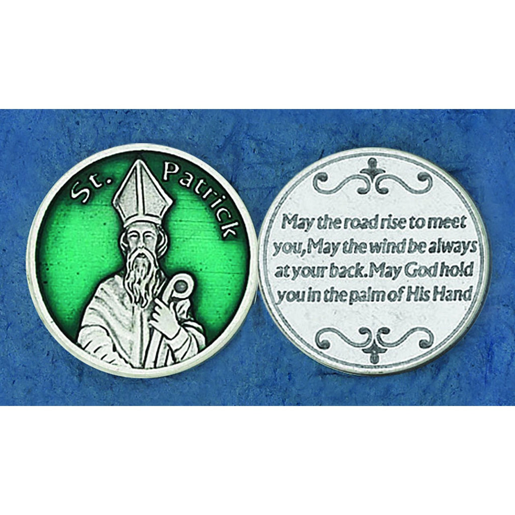 Enameled Token - St Patrick - Pack of 25