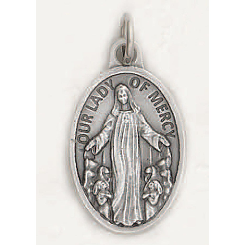 Our Lady of Mercy Pray for Us Medal - 4 Options