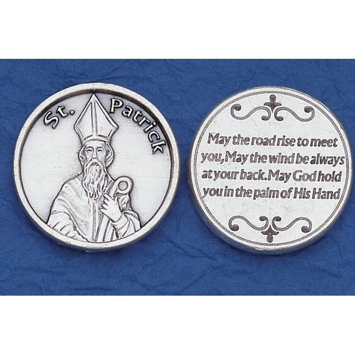 Irish Tokens - St. Patrick - May the Road Rose to Meet You - Pack of 25