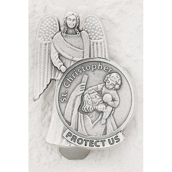Saint Christopher Visor Clip  - Pack of 3