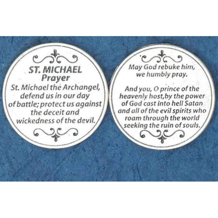 Italian Token - Saint Michael Prayer