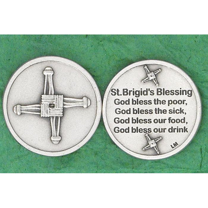 Irish token -St. Brigid's Cross - Pack of 25