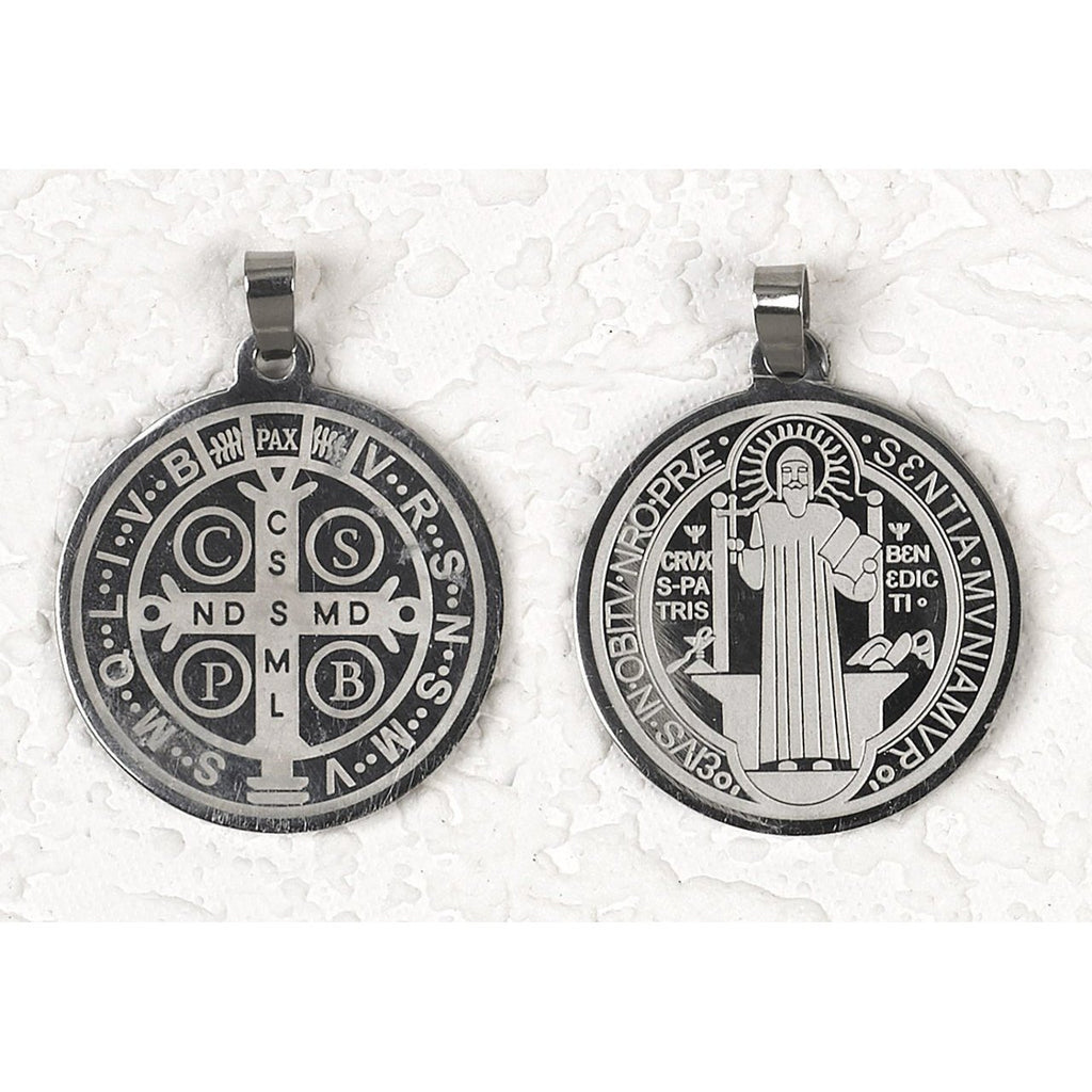 Saint Benedict Saintainless Sainteal Medals - 12 Options