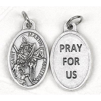 Saint Martin Caballero Pray for us Medal - 4 Options