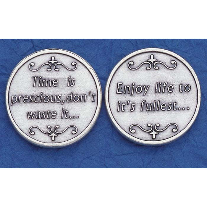 token-  Time is Precious......Sold in packs of 25. <p>Made in Italy</p>