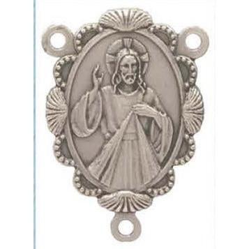 Divine Mercy Delux Rosary center - Pack of 25