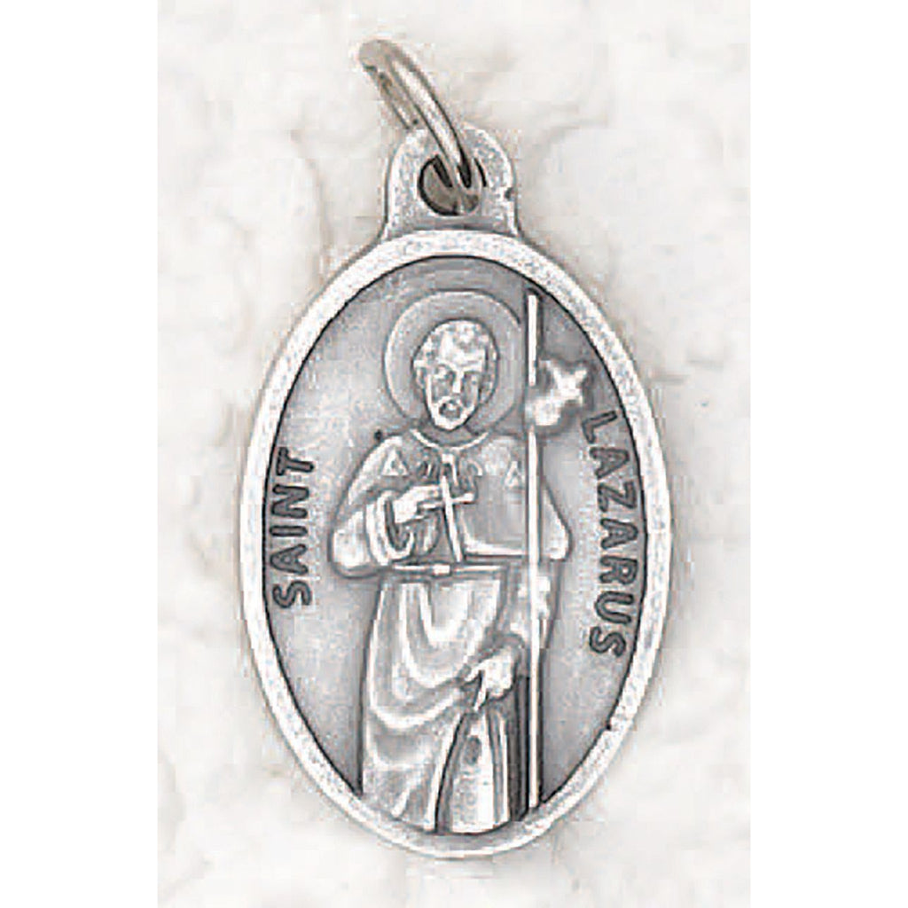 Saint Lazarus Pray for Us Medal - 4 Options