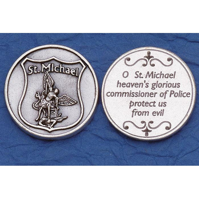 Italian Tokens - Police Prayer - St. Michael