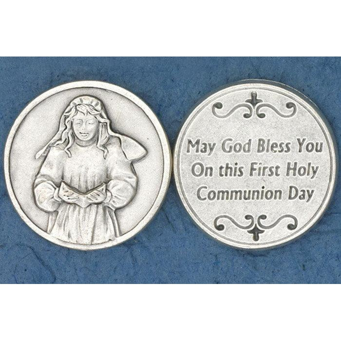 Sacrament Token - Communion Girl - Pack of 25