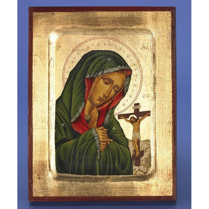 Mater Delorosa - Virgin Mary of Sorrows - Gold Leaf