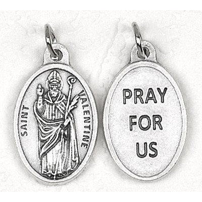 Saint Valentine Pray for Us Medal - 4 Options