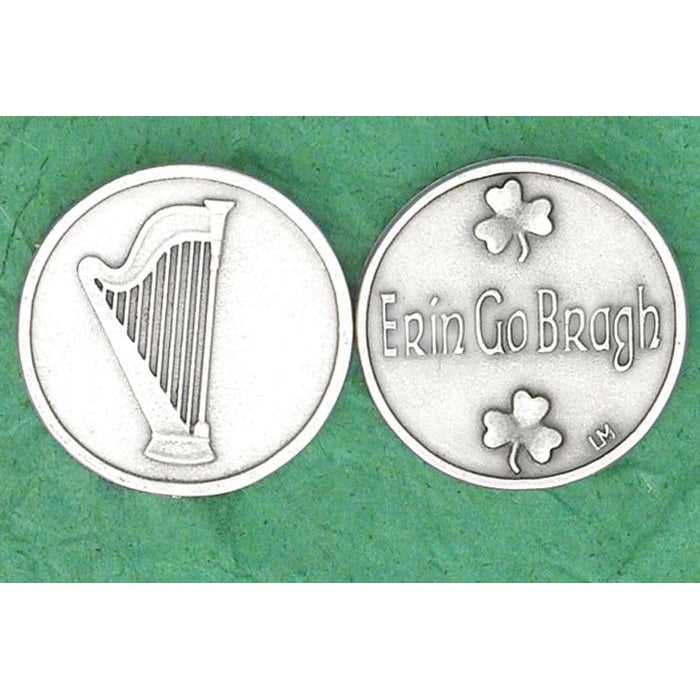 Irish token - Erin Go Braugh - Pack of 25