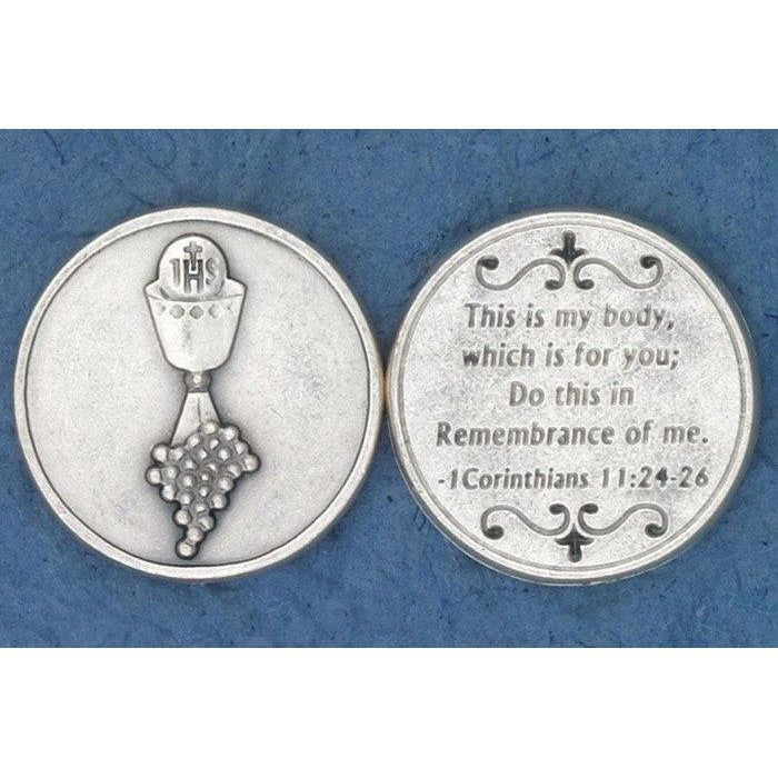 Sacrament Token - Communion Chalice - Pack of 25