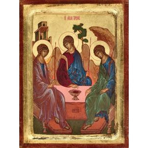 Rublev's Trinity - Gold Leaf - 2 sizes