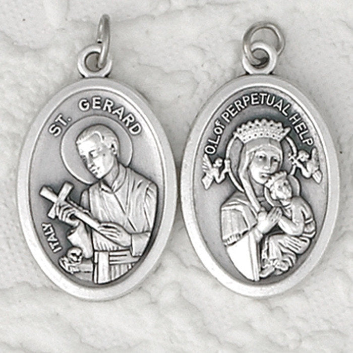 St. Gerard / Perpetual help Double Sided Medal - 4 Options