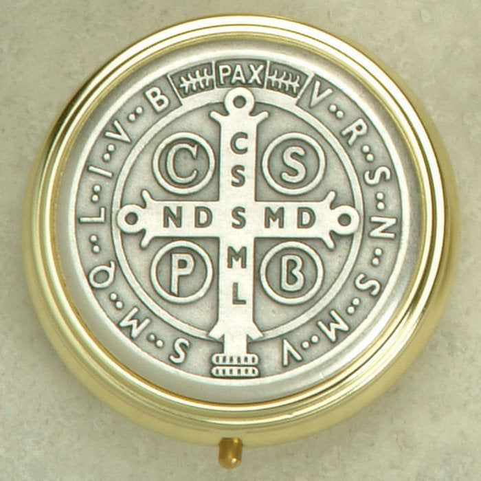 Saint Benedict -Pyx - 2 Sizes