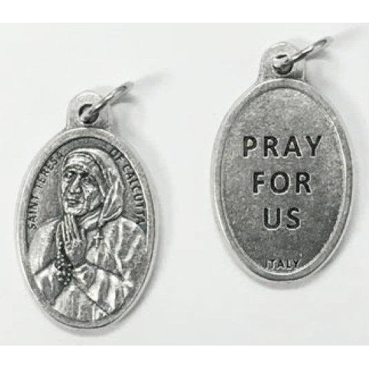 Saint Teresa of Calcutta Pray for Us Medal
