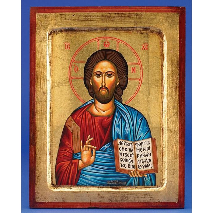 Pantocrator (Christ the Teacher) - Gold Leaf - 2 Sizes