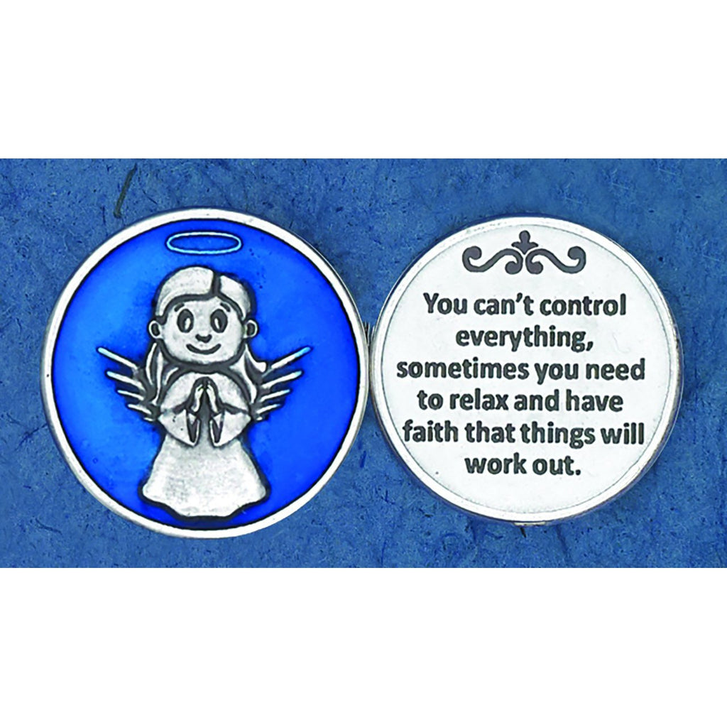 Enameled Token - You Can't Control Everything - Pack of 25