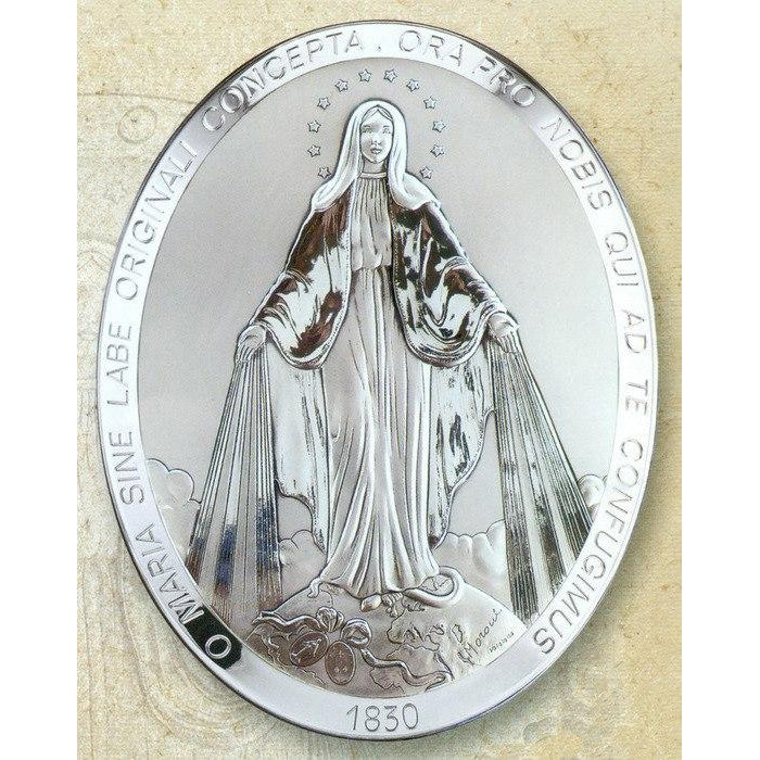 8 Inch Miraculous Medal - Oval