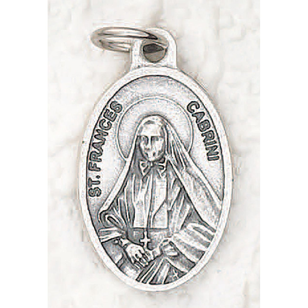 Saint Frances Cabrini Pray for us Medal - 4 Options