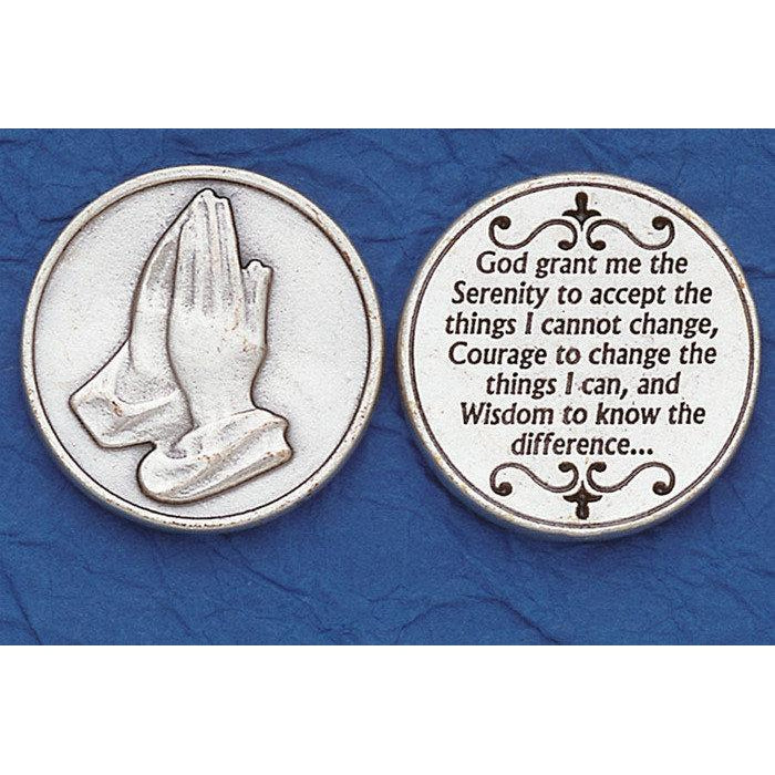 Italian Token - Serenity Prayer